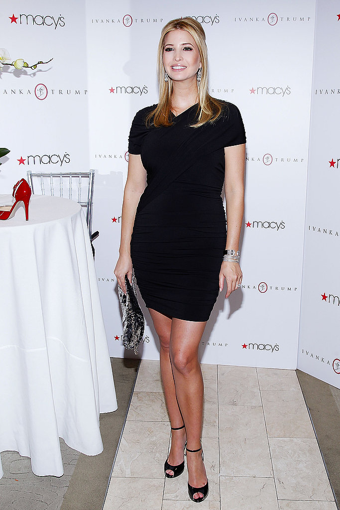 Ivanka Trump Launches Her Shoe Line at Macy's With a Pregnant Glow