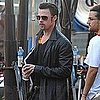 Pictures of Brad Pitt Filming Cogan's Trade in New Orleans