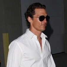 Pictures of Matthew McConaughey Leaving Jimmy Kimmel Live Studios on St. Patrick's Day