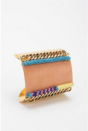 We love the funky, eclectic craftsmanship that make this cuff completely fresh. Lizzie Fortunato Jewels Sunshine Coast Cuff Bracelet ($248)