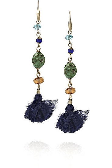 It's the eclectic-bohemian stylings of Isabel Marant in an earring — and a price point — we love! Isabel Marant Tasseled Drop Earrings ($120)