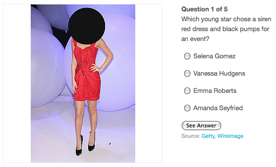 We tested you on your celebrity style skills — did you match the celeb by her amazing outfit?