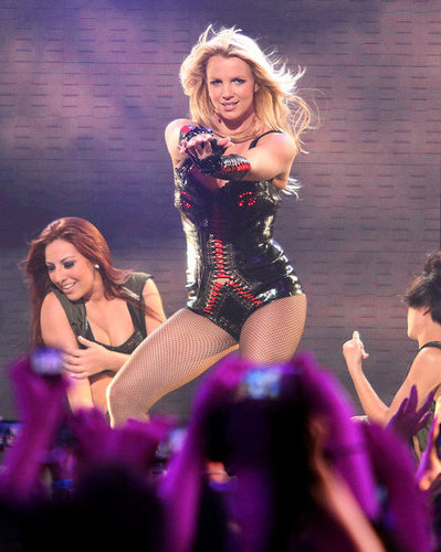 Photos of Britney Spears Performing Songs From Femme Fatale on Good Morning America