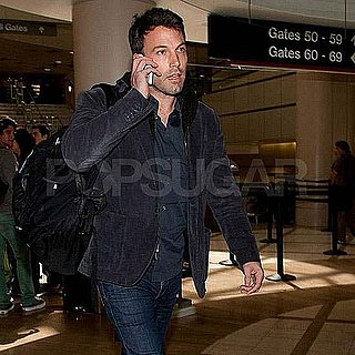 Pictures of Ben Affleck Arriving at LAX