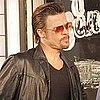 Pictures of Brad Pitt on the New Orlean&#039;s Set of Cogan&#039;s Trade
