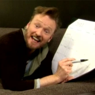 "Video of Conan O'Brien's Spoof of Rebecca Black's ""Friday"", Called ""Thursday"""