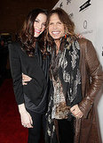 Liv and Steven Tyler Have a Super Night of Father-Daughter Bonding
