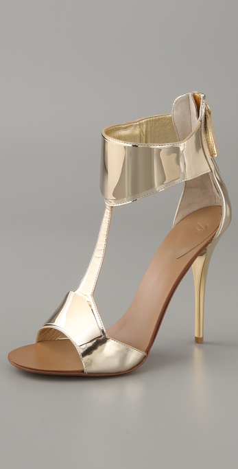 This Giuseppe Zanotti Sandal ($895), are incredibly sexy, but coolly futuristic at the same time.
