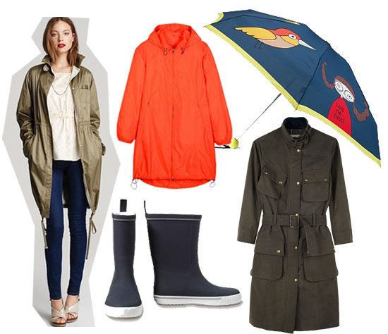 Slick Rain Gear to Keep You Covered During Those April Showers