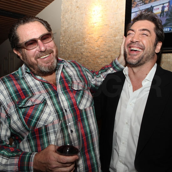 Javier Bardem Plays Host For Julian Schnabel and His New Movie Miral