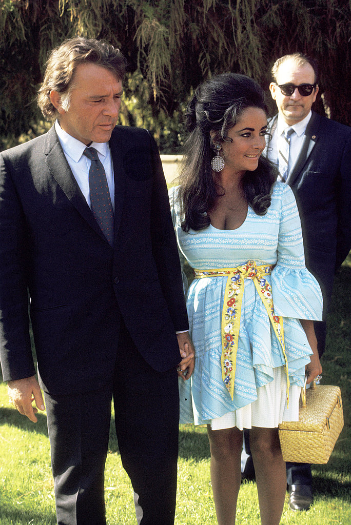 Elizabeth and Richard in 1970.
