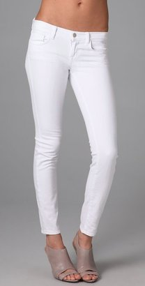 White skinnies are the perfect denim remix; we like the ankle cut on these J Brand Skinny Jeans ($159).