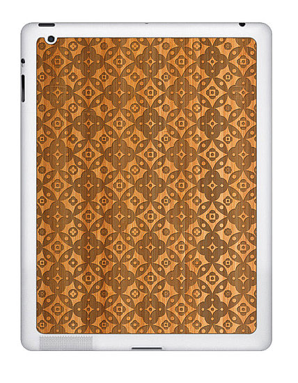 Gorgeous and Sustainable Bamboo iPad 2 Skins From Grove