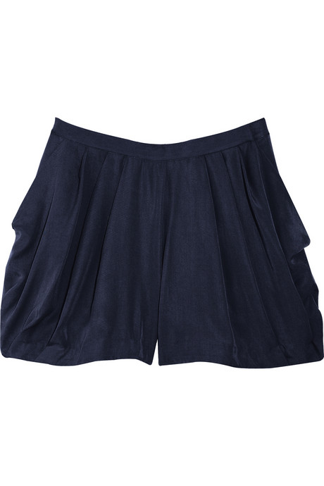 Adam Pleated Crepe Shorts ($31, originally $205)