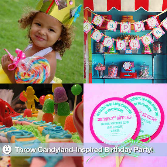 Throw a Candyland-Inspired Birthday Party!