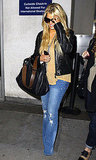 Jessica Simpson Heads Home With Long Locks and a Smile
