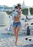 Supermodel Doutzen Kroes Has Her Baby and Bikini at the Miami Beach