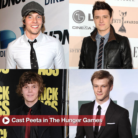 Cast Peeta in The Hunger Games