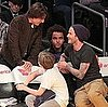 Pictures of David and Brooklyn Beckham at a Lakers Game With Tom and Connor Cruise 2011-03-28 05:49:28