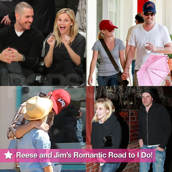 See Photos: Reese Witherspoon and Jim Toth's Romantic Road to I Do!
