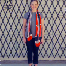 Sugar Shout Out: FabSugarTV: Wear One Scarf 10 Different Ways!