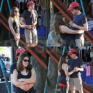Pictures of Jesse Eisenberg and His Girlfriend Anna in Rio