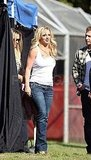 Britney Spears Gets Into Jackass Porta-Potty Humor For Kimmel!