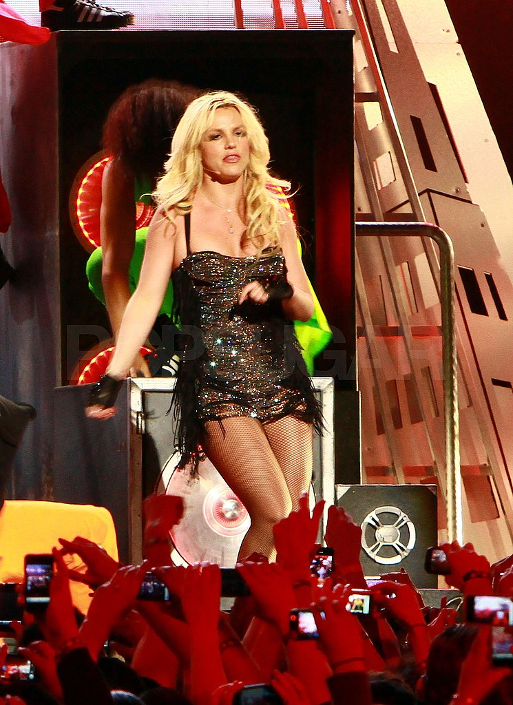 Britney Spears Skips the Funny Business and Busts a Move on Jimmy Kimmel Live