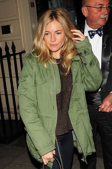 Sienna Miller Keeps Balancing Her Theater and Fashion Passions in London