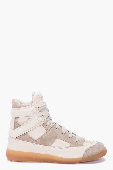 Maison Martin Margiela High Top Sneakers ($650)