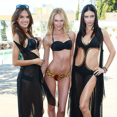 Pictures of Adriana Lima, Alessandra Ambrosio, Candice Swanepoel in Bikinis For Victoria's Secret 2011-03-30 13:06:59