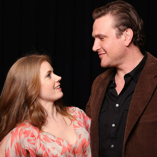 Pictures of Jason Segel and Amy Adams Promoting Their New Muppet Movie at Cinema-Con in Las Vegas