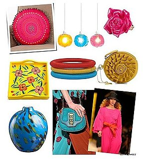Bright Accents For Fashion and Home