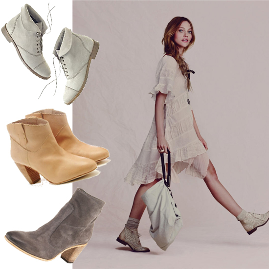 Trend Alert: Shop Spring 2011 Neutral-Hued Booties