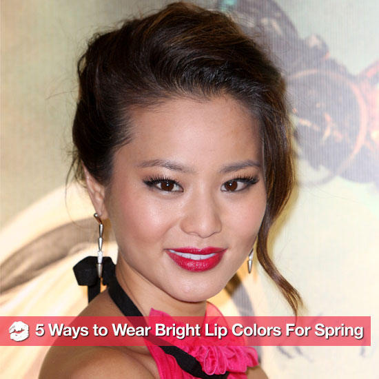 5 Ways to Wear Bold and Bright Lip Colors For Spring