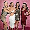 Pictures of Alessandra Ambrosio, Adriana Lima, Miranda Kerr, and Candice Swanepoel at a Victoria&#039;s Secret Party 2011-03-31 06:29:15