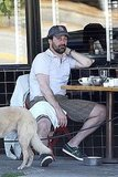 Jon Hamm Kisses His Girl and Lunches With 30 Rock Buddy as Mad Men Reaches a Deal