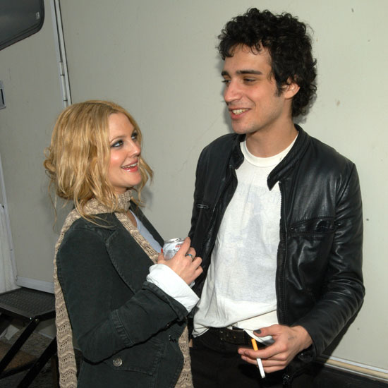 Drew Barrymore and her former boyfriend Fabrizio Moretti were smitten with each other during the show in 2003.