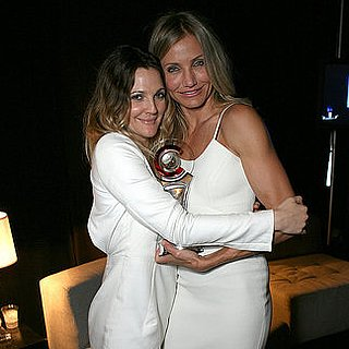 Pictures of Drew Barrymore Presenting Cameron Diaz With the 2011 Female Star of the Year Award at Cinema-Con