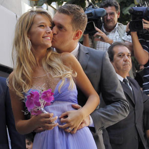 Pictures of Michael Bubles Wedding to Luisana Lopilato