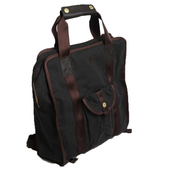 Brooklyn Industries Waxed Canvas Backpack