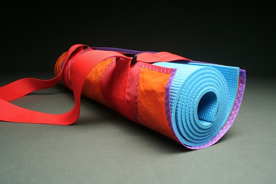 Recycled Sail Cloth Yoga Bag