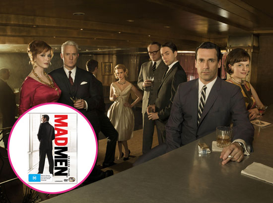 Giveaway: Win Free Mad Men Season Four on DVD or Blu-Ray
