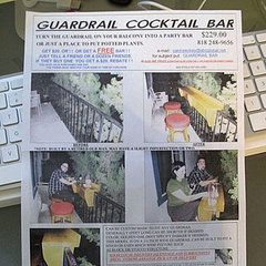 Trend Alert: Guardrail Cocktail Bar Service in Los Angeles