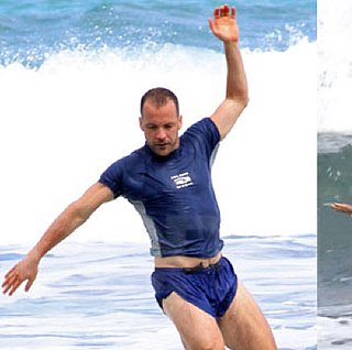 Pictures of Maggie Gyllenhaal and Peter Sarsgaard Surfing in Hawaii