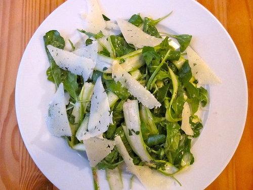 Raw Asparagus Salad Recipe