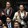 Pictures of Alex O&#039;Loughlin and Daniel Dae Kim in Hawaii