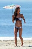 Audrina Patridge Models a Variety of Bikinis on the Beach!