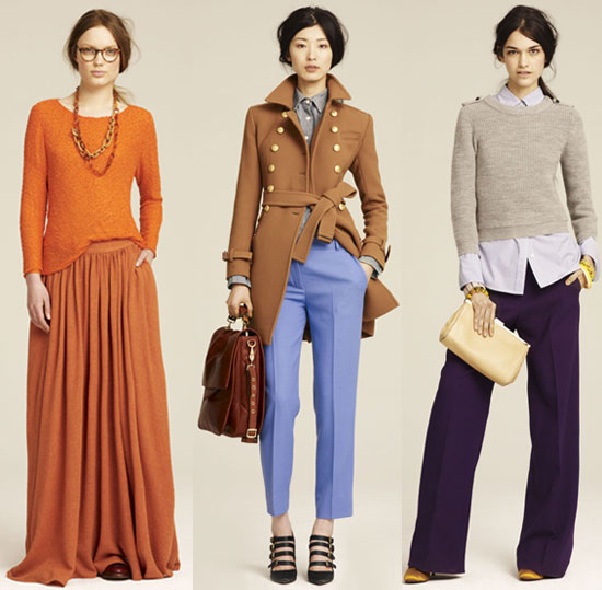Check out J.Crew's gorgeous Fall collection.