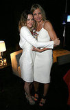 Drew Barrymore and Cameron Diaz kept it minimal in white.